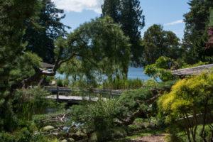 garden tour, Orcas Island Garden Club